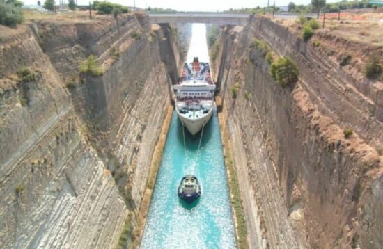One day tours Corinth Canal
